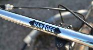 "Fahrradaufkleber ""HAW GEE"""