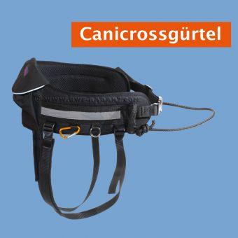 Neu ! Canicrossgürtel mit aufgesetzter Tasche u.Beinschlaufen
