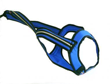 Zuggeschirr Faster (V-Back) blau