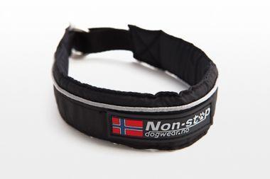 Half Choke Collar schwarz - Restposten