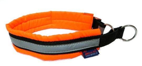 Halsband Soft orange M