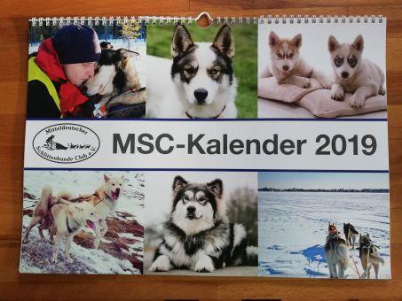 Kalender 2019  Schlittenhunde